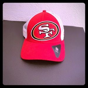 New Era San Francisco 49ers Ladies Adjustable Hat